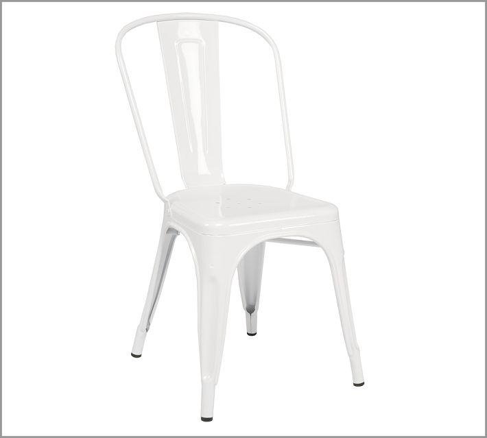 chaise a laqu e tolix. Black Bedroom Furniture Sets. Home Design Ideas