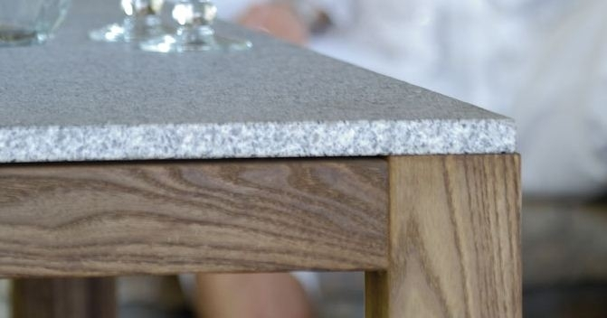plateau de table granit gris. Black Bedroom Furniture Sets. Home Design Ideas
