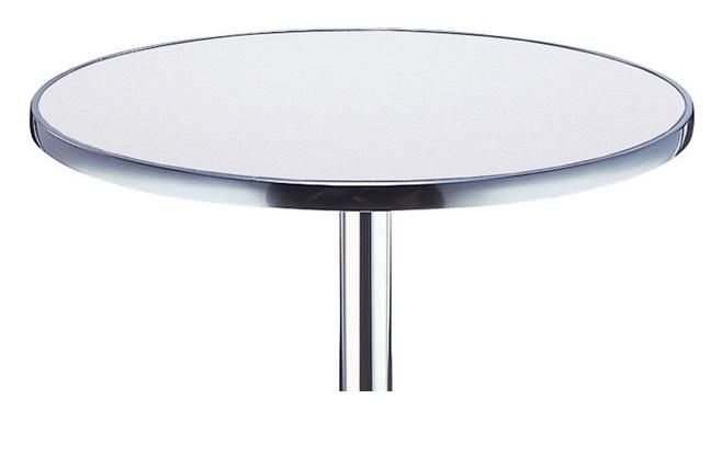 plateau de table stratifi cercl alu. Black Bedroom Furniture Sets. Home Design Ideas