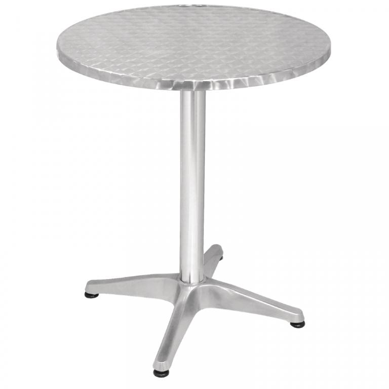 table gu ridon bistrot alu. Black Bedroom Furniture Sets. Home Design Ideas