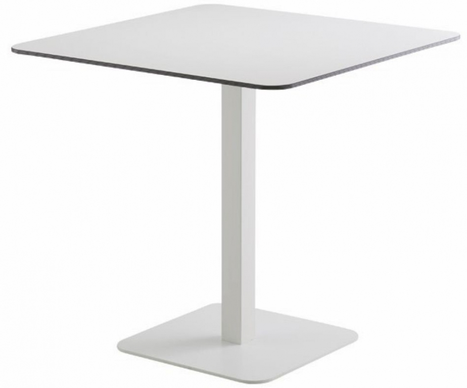 Table carree pied central 28 images table carr 233 e for Table pied central